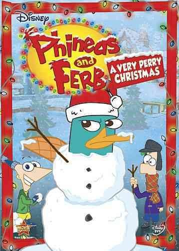 Phineas and Ferb: A Very Perry Christmas (DVD, 2010) (DVD, 2010)