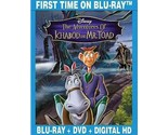 The Adventures of Ichabod and Mr. Toad (Blu-ray/DVD, 2014, 2-Disc Set) (Blu-ray/
