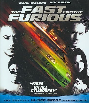 The Fast and the Furious (Blu-ray Disc, 2009) (Blu-ray Disc, 2009)