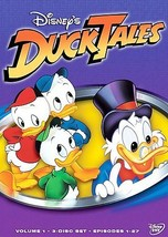 Ducktales - Volume 1 (DVD, 2005, 3-Disc Set) (DVD, 2005)