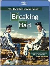Breaking Bad: The Complete Second Season (Blu-ray Disc, 2010, 3-Disc Set) (Blu-r