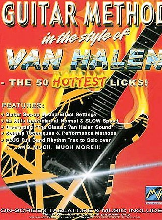 Guitar Method in the Style of Van Halen: The 50 Hottest Licks (DVD, 2004) (DVD,