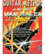 Guitar Method in the Style of Van Halen: The 50 Hottest Licks (DVD, 2004... - $7.95