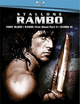 Rambo Trilogy (Blu-ray Disc, 2008, 3-Disc Set) (Blu-ray Disc, 2008)