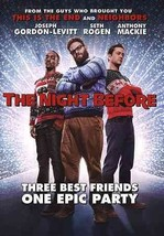 The Night Before (DVD, 2016) (DVD, 2016)