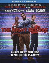 The Night Before (Blu-ray Disc, 2016) (Blu-ray Disc, 2016)