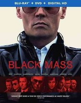 Black Mass (Blu-ray/DVD, 2016) (Blu-ray/DVD, 2016)