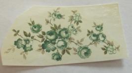 "9 Mixed Flowers Waterslide Ceramic Decals 4.5""  - $2.75"