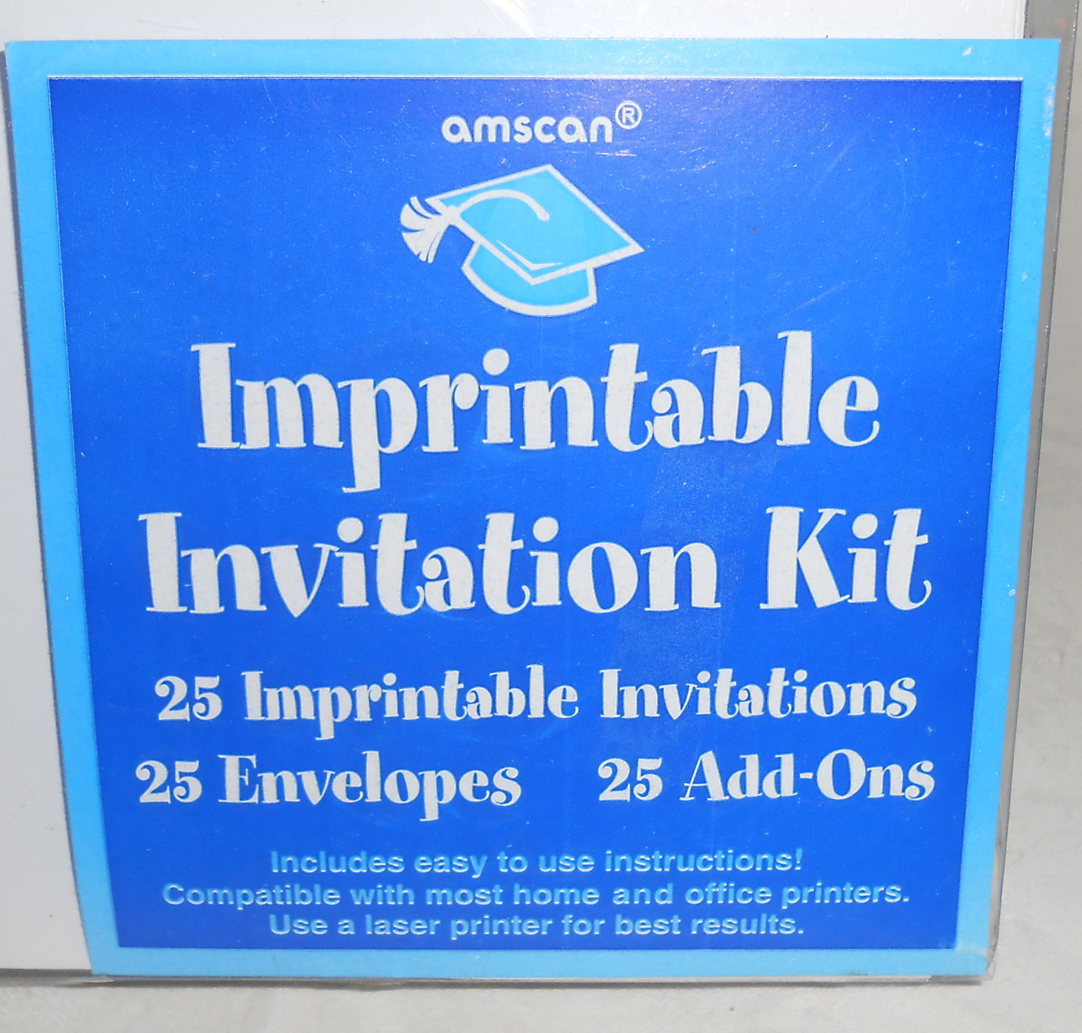 This is a photo of Wild Imprintable Birthday Invitations