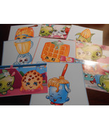Shopkins Stickers, Birthday party Favors, Labels, rewards, gifts, crafts - $8.99
