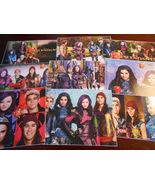 9 Disney Descendants inspired stickers, Birthday party favors, labels, r... - $8.99