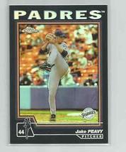 Jake Peavy (San Diego Padres) 2004 Topps Chrome Black Refractor #37 - $3.49