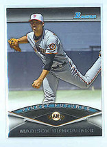 MADISON BUMGARNER 2011 BOWMAN FINEST FUTURES INSERT CARD #FF25 - $2.99