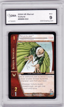 2004 MARVEL Sinister Syndicate Vulture #MSM-022 Graded GMA 9 Super Hero ... - $2.25