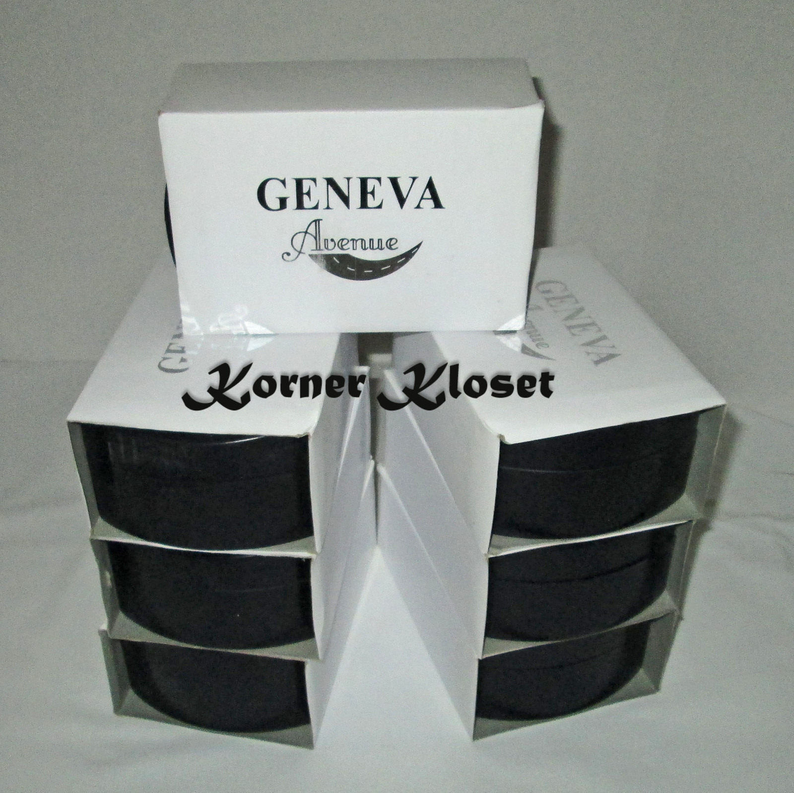 Seven Sets - Geneva Wristwatch and Sunglasses in Cases - NIB