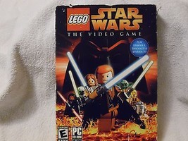 Lego Star Wars The Video Game Pc Cd Rom Software W/ Box Sleeve Case Disc Instru  - $19.78