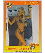 Jennifer Gosnell 1994 Hooters Card #59 - $1.00