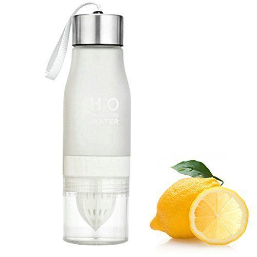 NEW H2o Portable Fruit Infuser Infusing Lemon Water Bottle 650ML