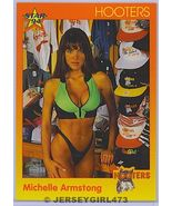 Michelle Armstrong 1994 Hooters Card #70 - $1.00