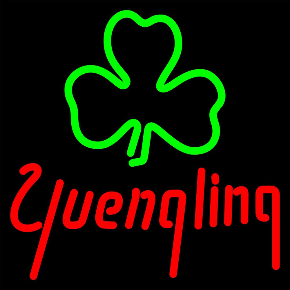 Yuengling Green Clover Neon Sign - Neon