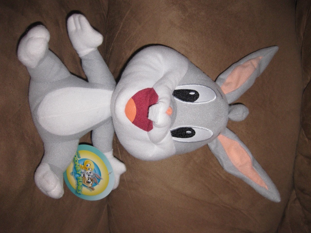 "Primary image for BABY BUGS BUNNY Brand New Licensed Plush NWT With Tags 12"" Looney Tunes"