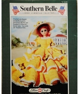 Fibre Craft Southern Belle Crochet Pattern Leaf... - $5.95