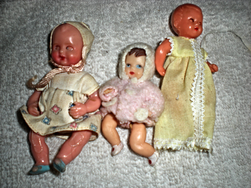 Primary image for Vintage Baby dolls - 3 Dolls 1950's