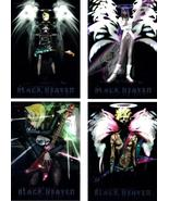 Legend of Black Heaven Set of (4) Foil Promo Art * Anime - $4.88