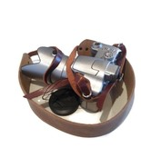 Leather Camera Shoulder Strap , DSLR camera strap , Distressed Brown Lea... - $32.28