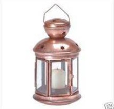 Colonial Metal Candle Lamp - $9.95