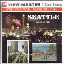1970's Seattle Washington 3d View-Master 3 Reel Packet - $16.03