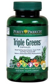 Purity Products - Triple Greens Capsules 90 ct