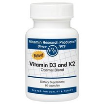 Vitamin D3 and K2 Optimal Blend - $28.59