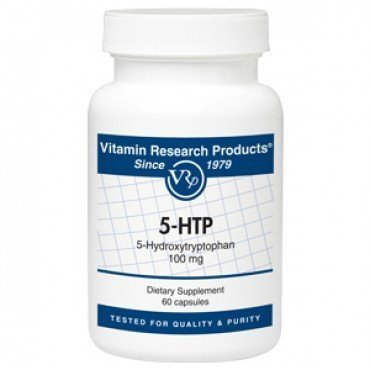 5-HTP, 5-Hydroxytryptophan 100 mg, 60 capsules Brand: Vitamin Research Products