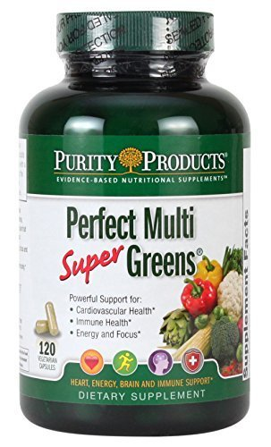 Purity Products Perfect Multi Super Greens Dietary Supplement Health Nutritio...