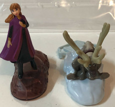 McDonald's Toys Lot Of 2 Frozen Happy Meal Anna Sven - $3.95