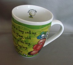 World's Greatest Golfer Porcelain Coffee Mug History and Heraldry - $5.99