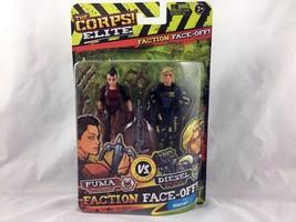 The Corps Elite - Faction Face-Off - Puma Vs. Diesel - Action Figures - $6.99