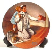 """The Painter"" (Norman Rockwell Collector's Plate) - $19.80"
