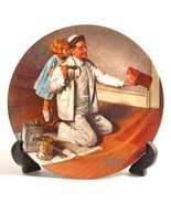 """""""The Painter"""" (Norman Rockwell Collector's Plate) - $19.80"""