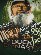 Duck Dynasty Size Large GreenT-Shirt A&E 2012 - $12.00