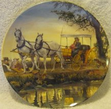 """Knowles Plate 1985 """"Surrey with Fringe on Top"""" - $20.00"""
