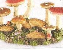 Mushroom Stand ( Use for sitters or small figurines)