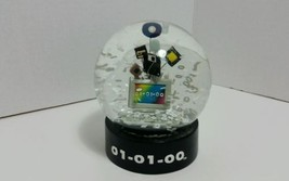 Mark Of The Millenium Collectible Snow Globe Y2... - $24.97