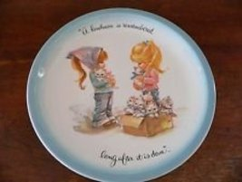 """American Greetings Plate - GIGI - """"Kindness Is Remembered Long After It Is Done"""" - $18.00"""