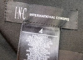 INC Sexy International Concept Ladies Black 6 Bottons Adjustible Corset Vest 4 image 8