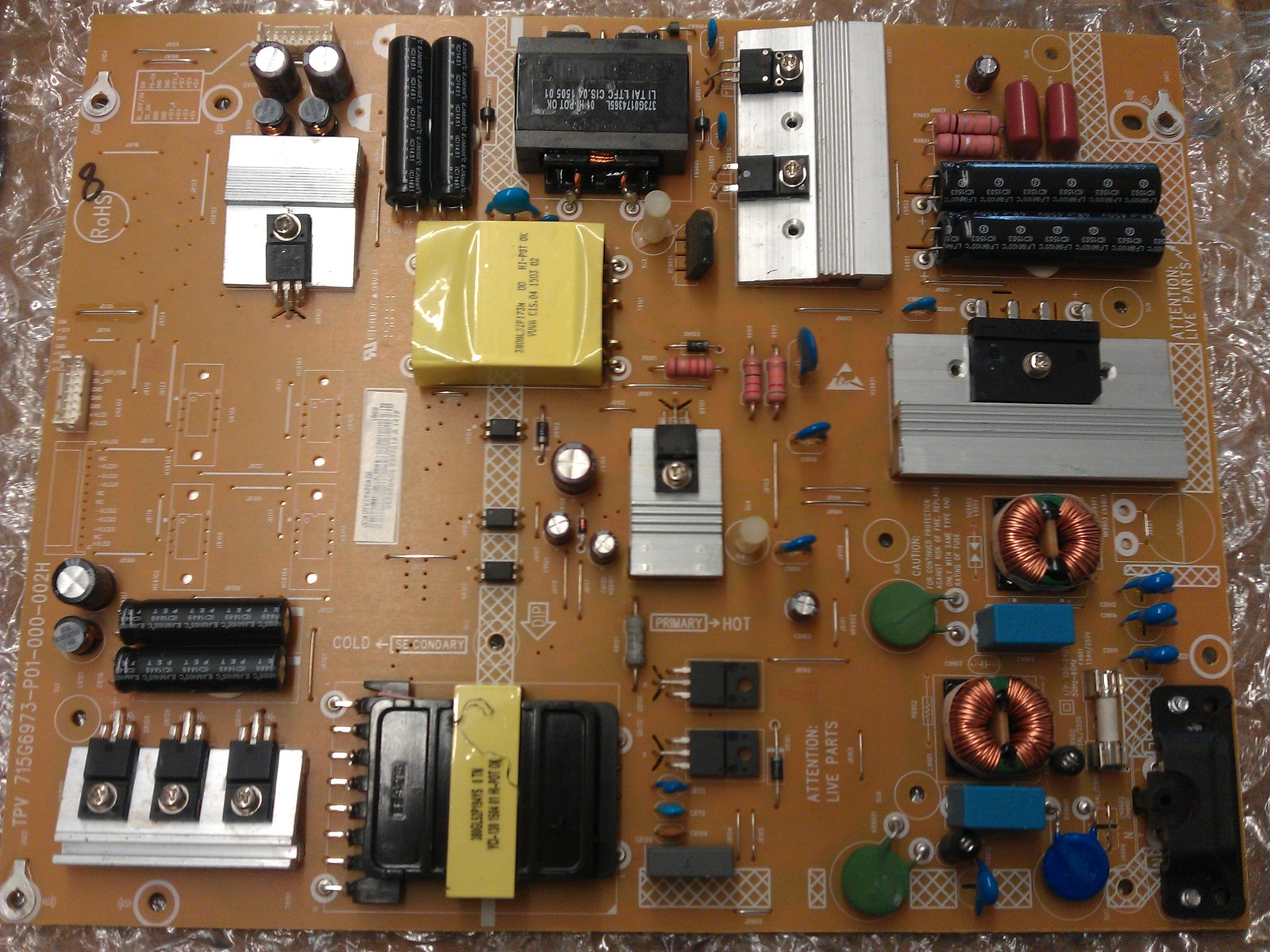 ADTVE2420AD4 Power Supply  Board From Vizio E50-C1 LTMWSKAQ LCD TV