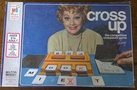 CROSS UP (1974) Milton Bradley vintage boxed card game Lucille Ball cover photo - $9.89