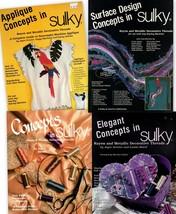 Sulky Publications Applique Concepts, Concepts, Elegant Concepts, Surfac... - $12.95