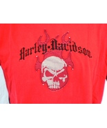 Harley-Davidson Red T-Shirt Large Utica, New York - $20.00